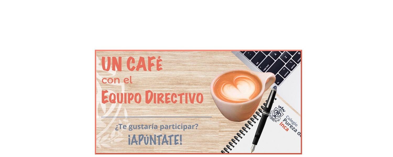 Café con equipo directivo